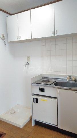 パシフィック桜木 206号室のキッチン