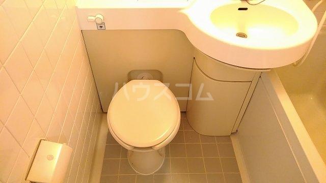 パシフィック桜木 206号室のトイレ