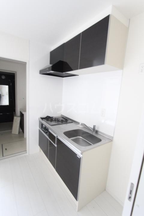 Mistry 201号室のキッチン