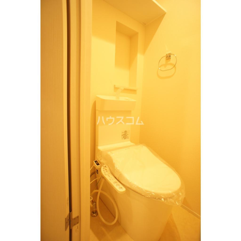 プランドール赤羽 101号室のトイレ