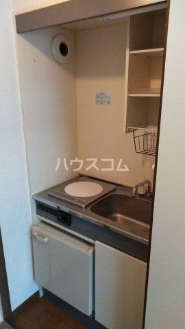 レックスイナミⅢ 202号室のキッチン