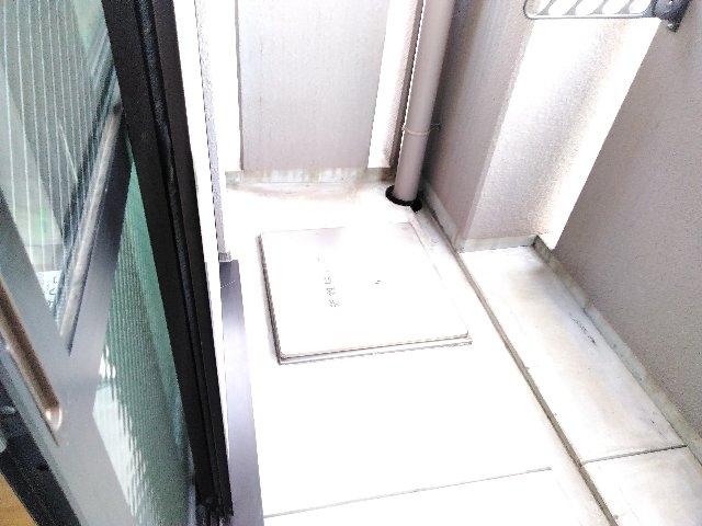 サンライト西京極 04040号室のバルコニー