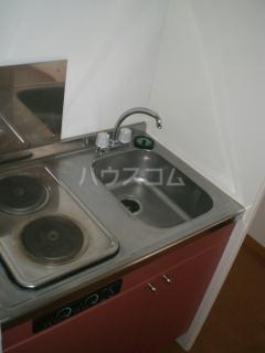レオパレス水戸 101号室のキッチン