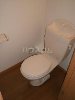 レオパレス水戸 101号室のトイレ