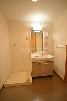 サンフラワーII 103号室の洗面所