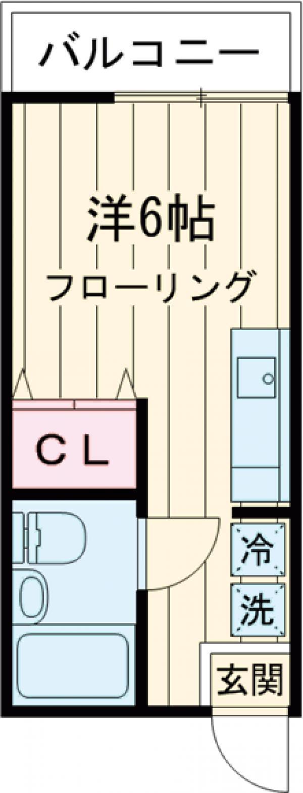 吉田ハイツ 103号室の間取り