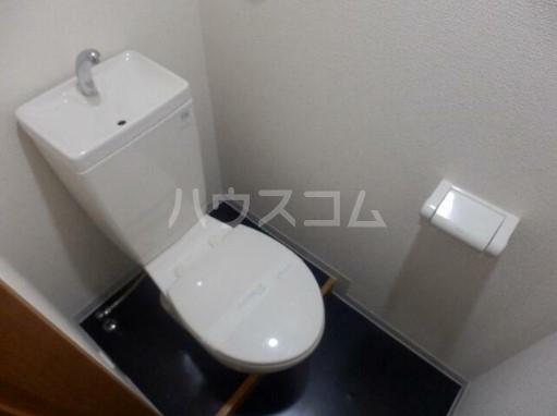 マルチプレックスX B2号室のトイレ
