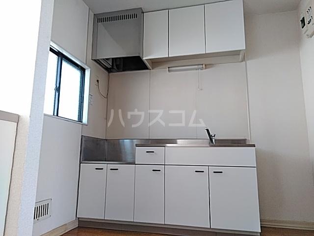 コーラルハイム平塚 202号室のキッチン