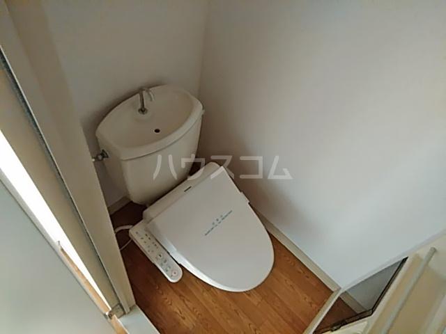 コーラルハイム平塚 202号室のトイレ