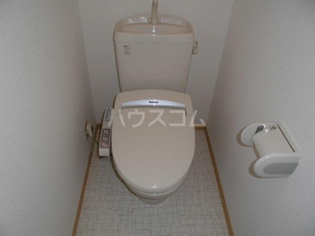 ベルウッド 202号室のトイレ