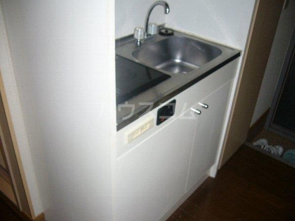 ジュピター翔 204号室のキッチン