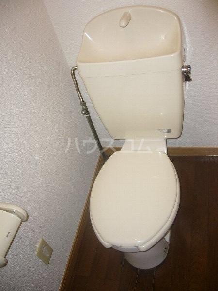 ジュピター翔 204号室のトイレ