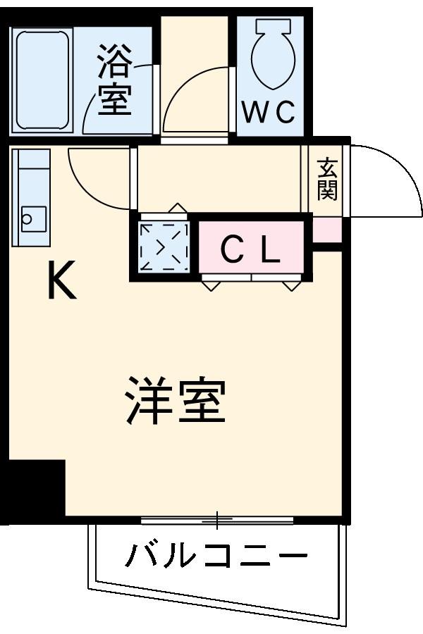 M's House 1・503号室の間取り