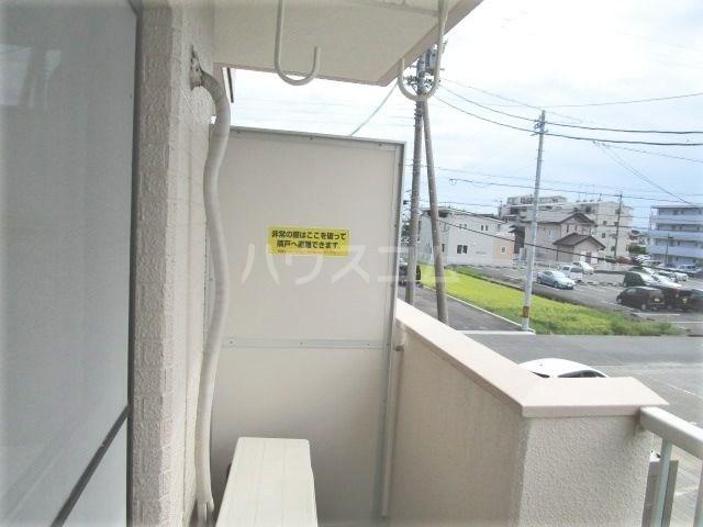 グレイス第2マンション 209号室のバルコニー