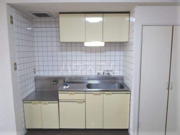 グレイス第2マンション 209号室のキッチン