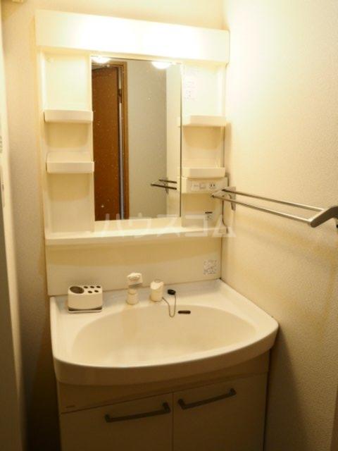 グレイスコート 607号室の洗面所