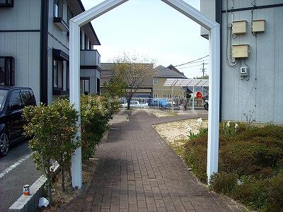 ベルコリーヌ藤ヶ丘 B201号室のエントランス