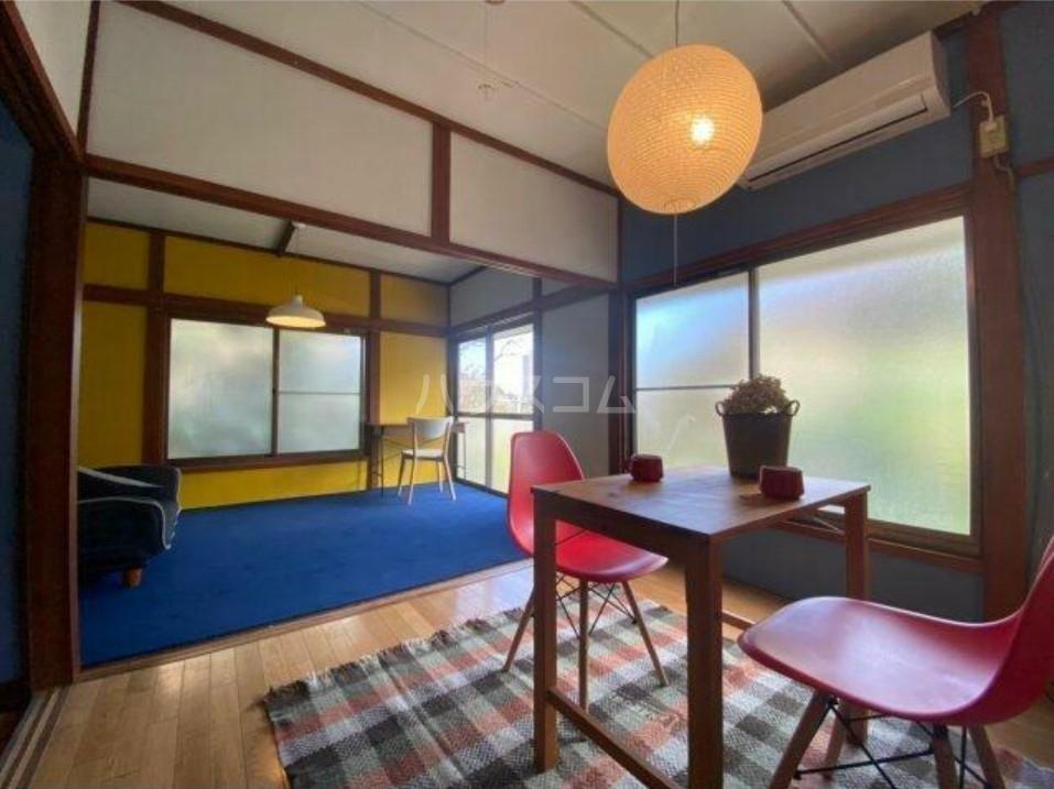 横須賀グリーンベース南棟 101号室のリビング