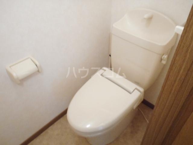 クァイエット メゾン 天王 02020号室のトイレ