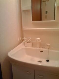 クァイエット メゾン 天王 02020号室の洗面所