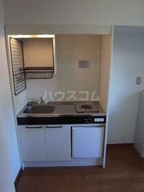 クリエール南林間 205号室のキッチン