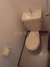 クリエール南林間 205号室のトイレ