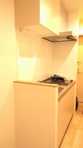ラ・フルール 101号室のキッチン