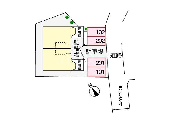 ソレア-ジュMK 02020号室のその他