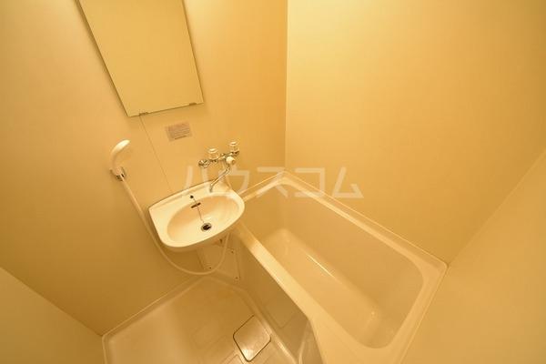 カルム平和 202号室の風呂