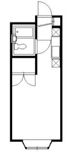 新堀マンション・302号室の間取り