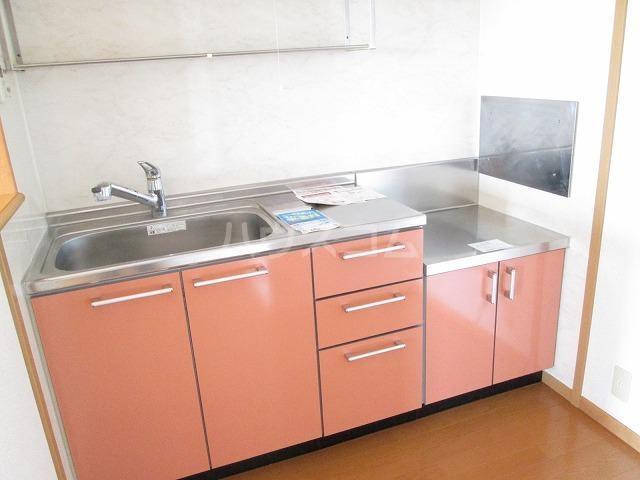 ポワールⅡ 02030号室のキッチン
