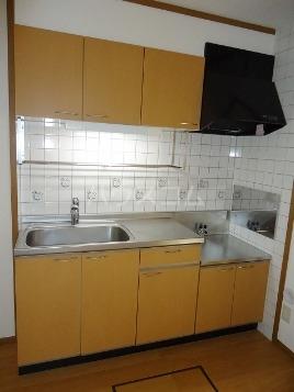 エル・レフィナードⅡ 01030号室のキッチン