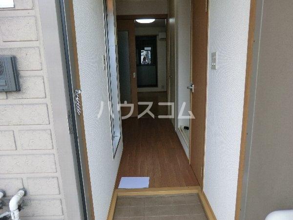 エトワール勝川 202号室の玄関