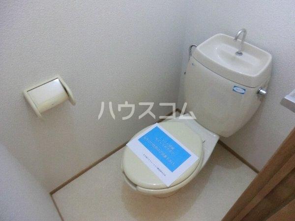 エトワール勝川 202号室のトイレ