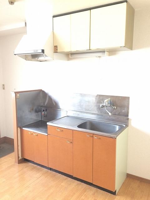 PEARLハイツ 203号室のキッチン