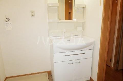 ボヌールフォンテーヌ 02040号室の洗面所