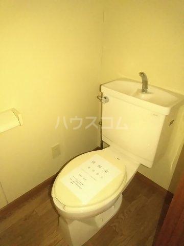 フォースト鶴間 302号室のトイレ