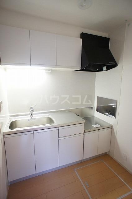 エーデルⅡ 01020号室のキッチン