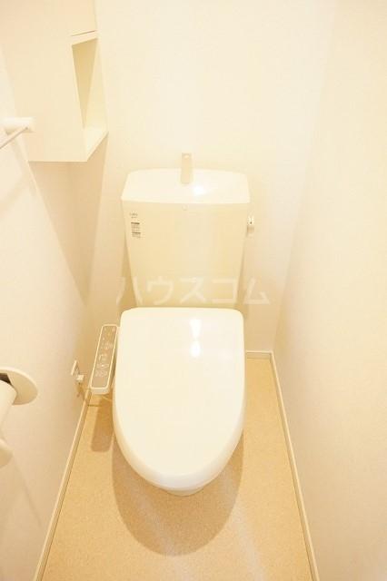 アネシス木太B 02010号室のトイレ