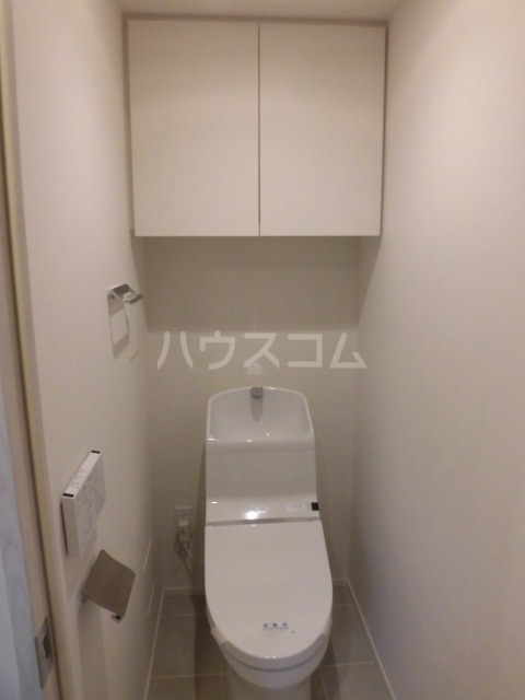ザ・パークハビオ柿の木坂 102号室のトイレ