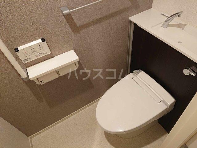 アルカディアⅧ 02010号室のトイレ