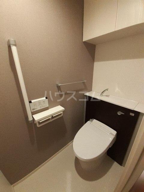 アルカディアⅧ 04010号室のトイレ