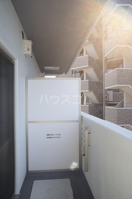 アルカディアⅧ 09020号室のバルコニー
