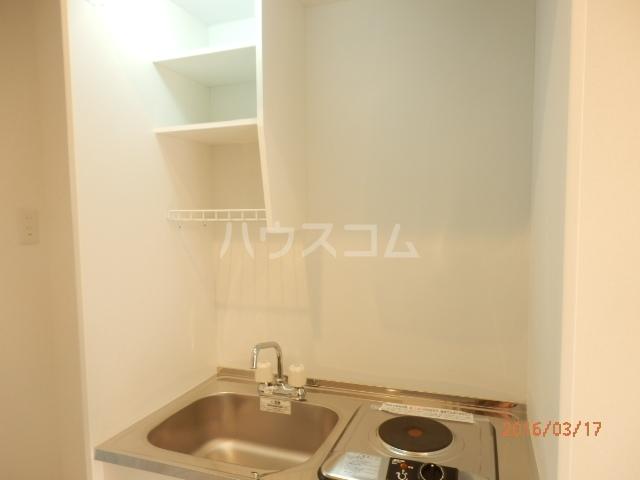 ブロッサムテラス蒲田 202号室のキッチン