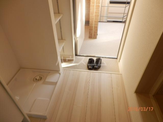 ブロッサムテラス蒲田 202号室の玄関