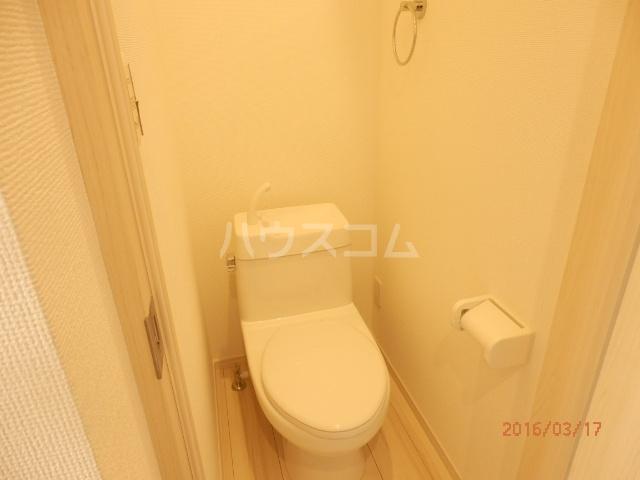 ブロッサムテラス蒲田 202号室のトイレ