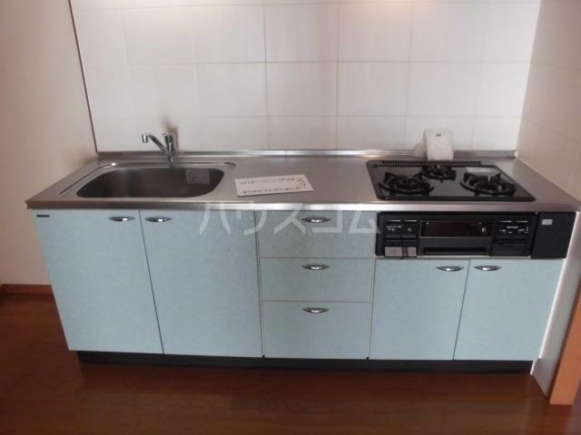 ピアビル 9-D号室のキッチン