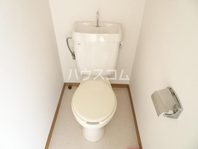 旭ハイツ 105号室のトイレ