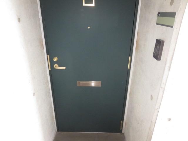 翔ひがしかわて 3C号室の玄関