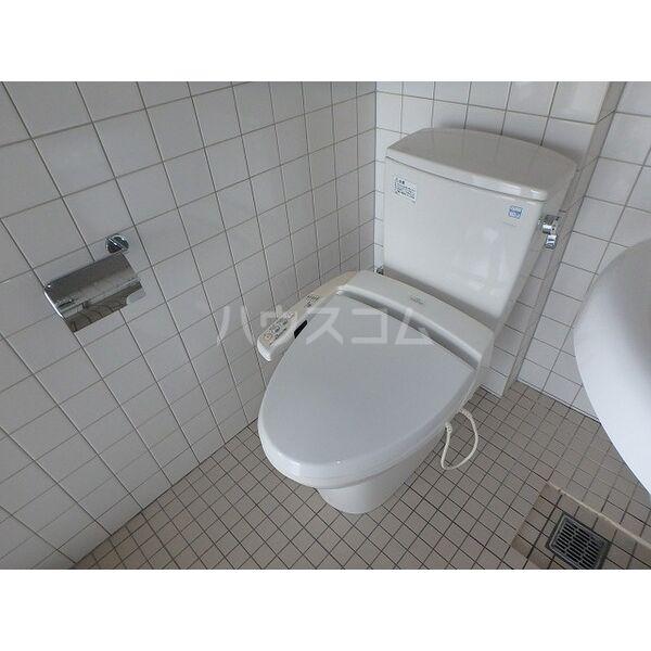 翔ひがしかわて 3C号室のトイレ